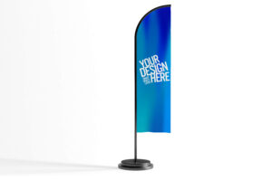 banner textil de vela banderola