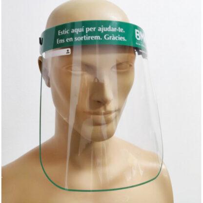 pantalla facial protectora