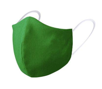 Mascarillas de tela verde farmacias