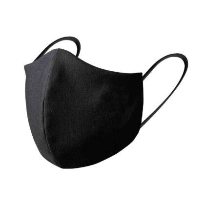 mascarillas en color negro