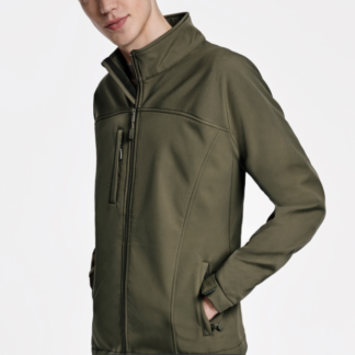 chaqueta softcell verde