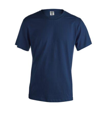 Camiseta de color azul con marcaje