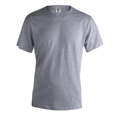 Camisetas en color gris con logo